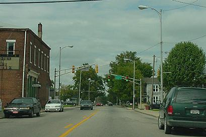 Armstrong Street in Crothersville, Indiana