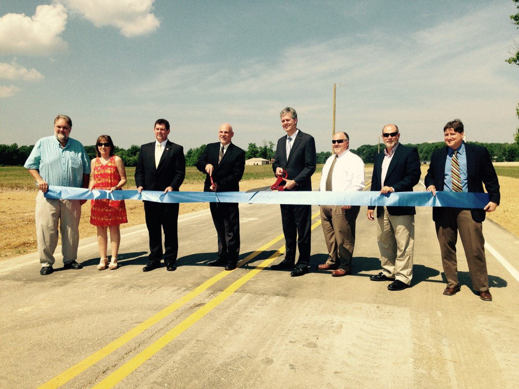 Industrial Way Ribbon Cutting